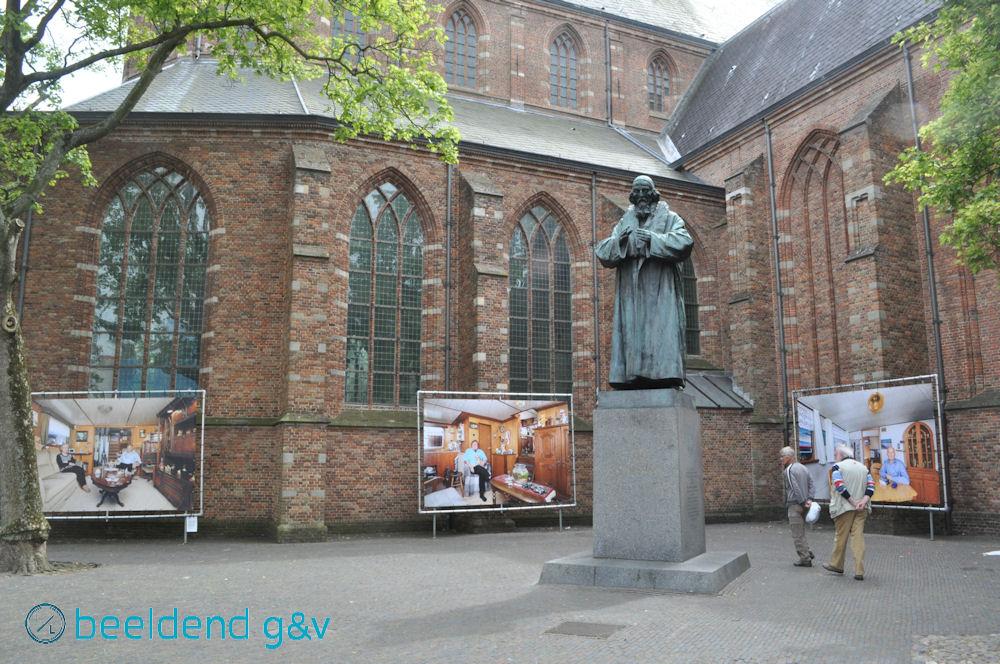 Fotoserie bij de grote kerk