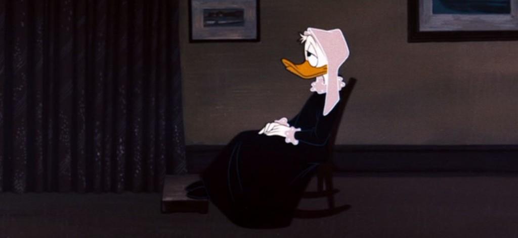 Whistler's Mother Donald Duck