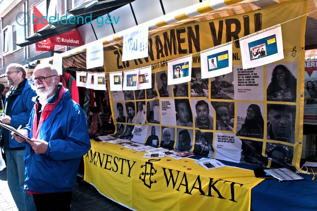 Gelukkig is er ook ruimte voor Amnesty!
