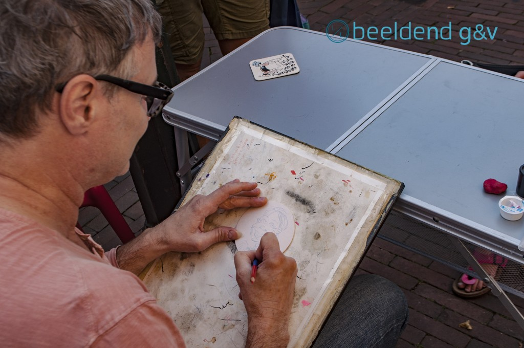 Pieter Hogenbirk is weer aan de slag met karikaturen