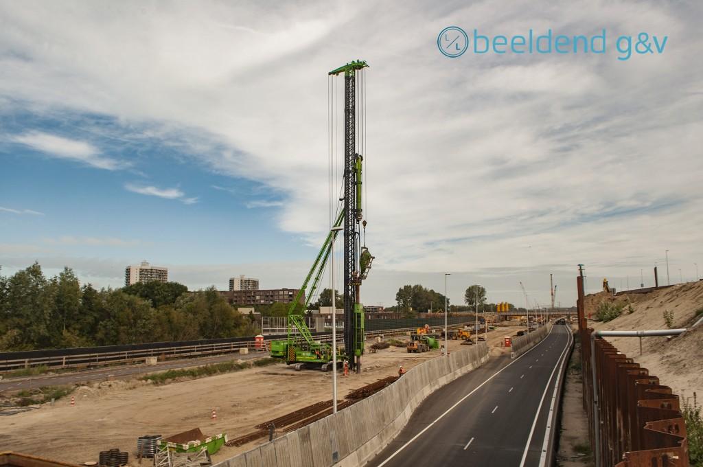 De A9 krijgt 5 tunnels met in totaal 14 rijbanen