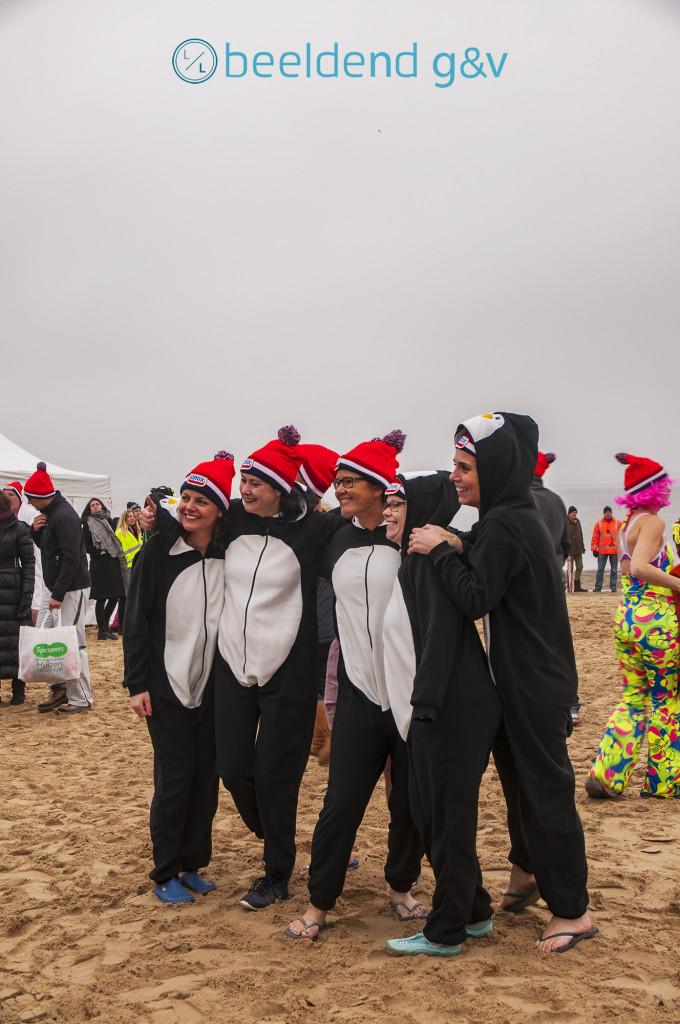 Aangespoelde pinguïns