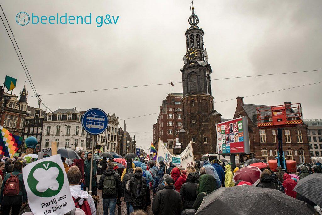 Amsterdam klimaatmars